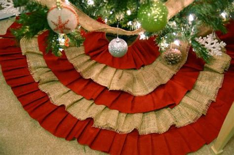 buy cheap burlap christmas tree skirts a listly list