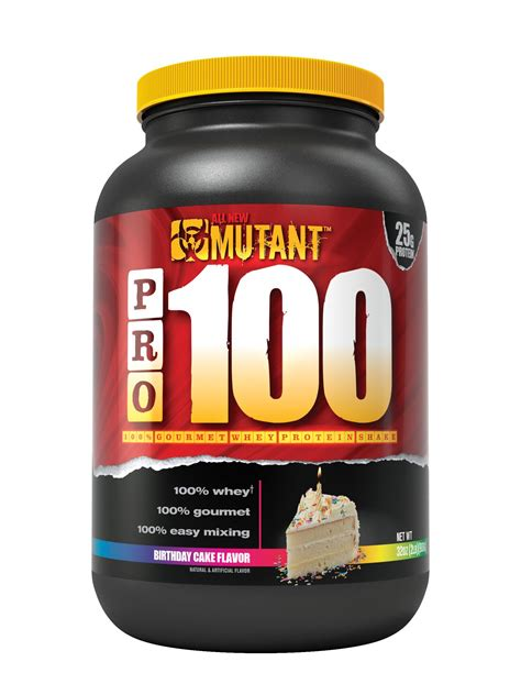 r protein mutants mutant pro 100 whey protein shake with no
