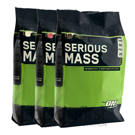 o n creatine optimum nutrition serious mass 5 54kg free o n
