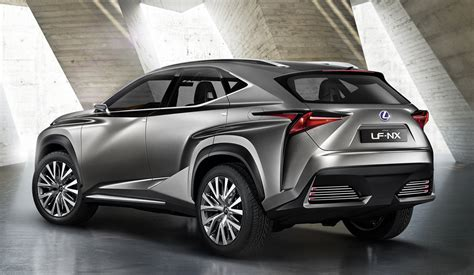 lexus truck nx lexus nx suv previewed by radical concept photos caradvice