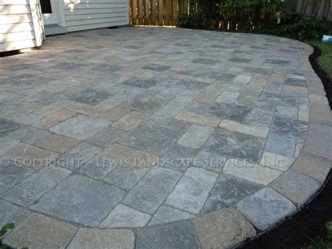 Paver Patio Stones Paver Patio Venetian Pavers By Pavestone Traditional Patio Portland By Lewis
