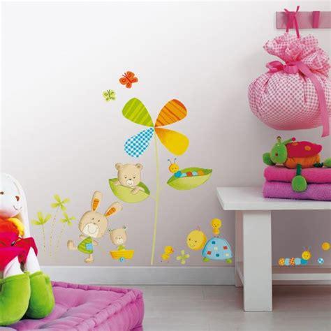 stikers chambre enfant stickers chambres bb toise bb fleurs et oiseaux stickers