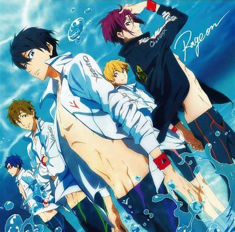 anime free free iwatobi swim club the afictionado