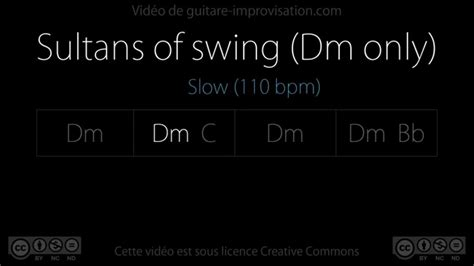 Sultans Of Swing Backing Track by Dm Rock 110 Bpm Sultans Of Swing Backing Track