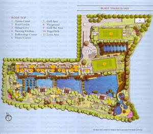 Ngee Ann City Floor Plan by Floridian Site Plan