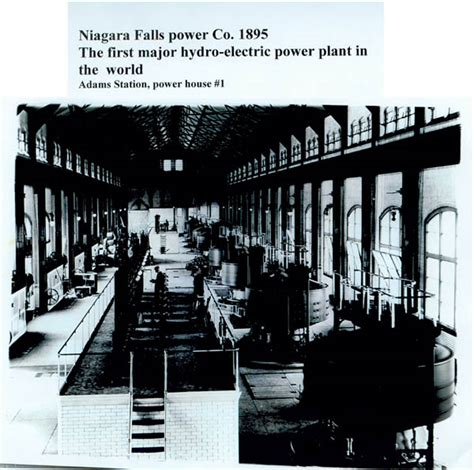 Tesla Power Plant Above Interior Of The Adam S Station Power House 1