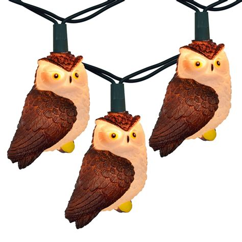 owl string lights brown owl string lights