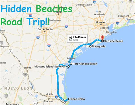 beaches in texas map this road trip takes you to the least known beaches in texas