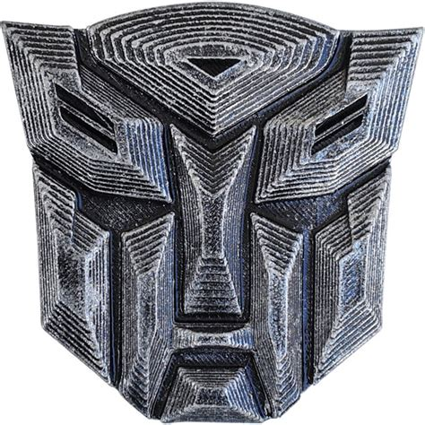 3d Sticker On Snapdeal by Transformers Autobots Car Emblem Badge Antique Style 3d
