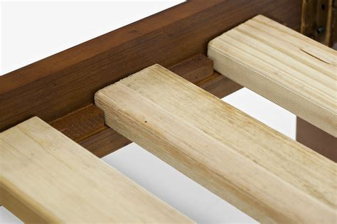 slats for queen bed julian brand new nz solid pine timber wood queen bed frame antique walnut slats ebay