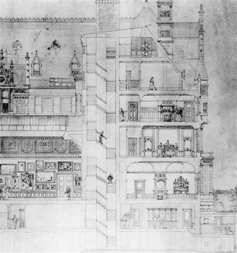 vanderbilt floor plans cornelius vanderbilt mansion rendering the biltmore
