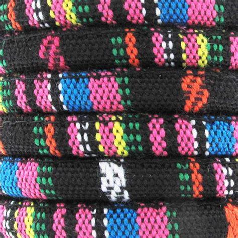 Black Mix Ethnic ethnic cotton cord 6 5 mm black mix x3m perles co