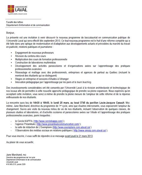 Exemple De Lettre De Motivation Québec Modele Lettre De Motivation Universite Document
