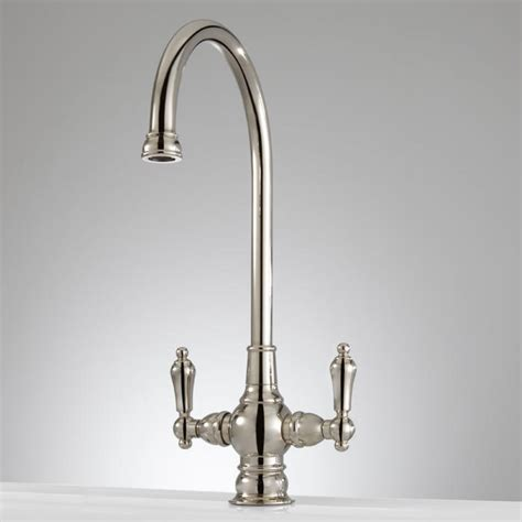 Kitchen Faucets White Finish by Pot Filler Faucet Height