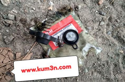 cara memperbaiki karburator mio yang rusak inilah akibat karet membran diafragma karburator rusak