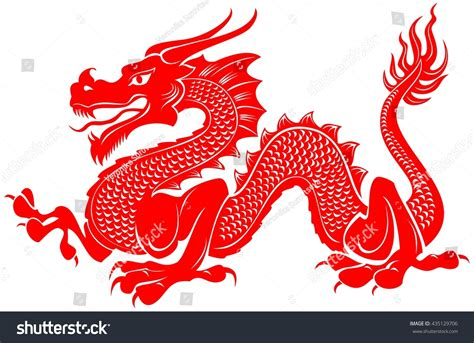 dragon tattoo vector illustration for tribal vector illustration stock vector