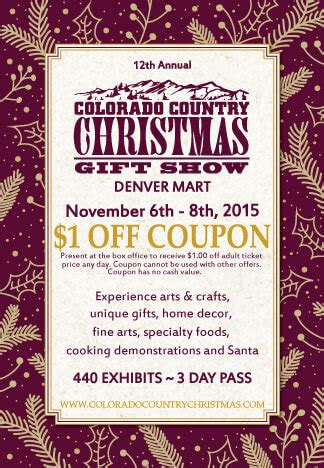 colorado country christmas gift show the denver ear