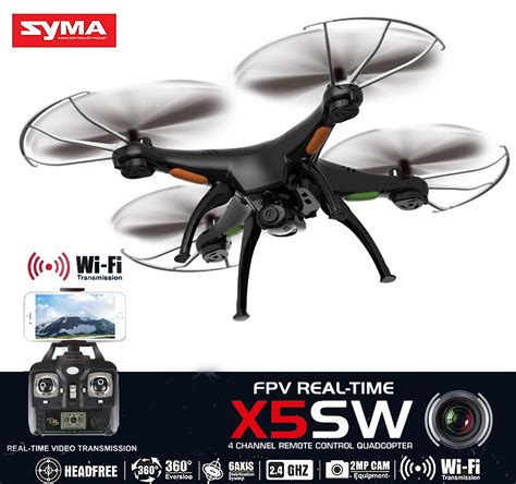 Syma X5sw Wi Fi With Hd syma x5sw wifi fpv rc quadcopter drone 2 4ghz 6axis with