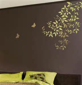 Living Room Wall Paint Stencils 8 Diy Wall Painting Stencils Design Diy And Crafts