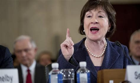 what republican woman criticized another womans haircut republican senator susan collins just crossed party lines