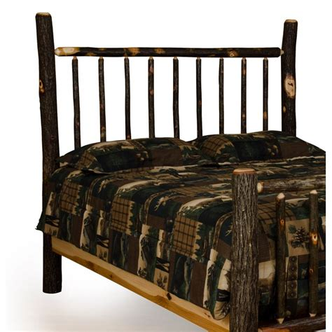 Mission Style King Headboard Rustic Hickory Bed Mission Style