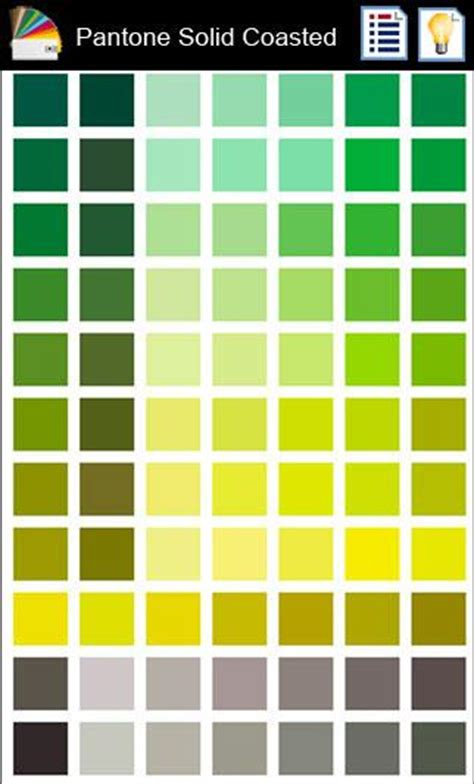 sle pantone color chart 1 pantone color book screenshot 1 pantone color book android apps