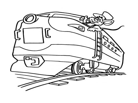 coloring page railcar image of train coloring pages for kids coloring page railcar