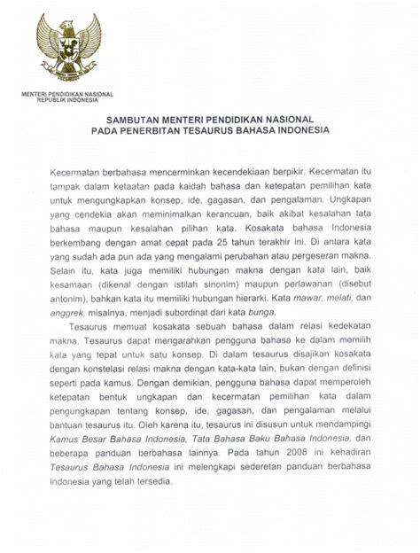 Tesaurus Alfabetis Bahasa Indonesia kamus tesaurus bahasa indonesia