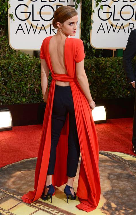 Emma Watson Golden Globes | emma watson at 71st annual golden globe awards hawtcelebs
