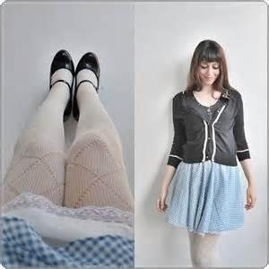 Nancy wilde pleaser mary janes calzedonia tights vintage bodysuit