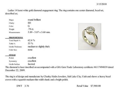 jewelry appraisals hafen jewelers gallery