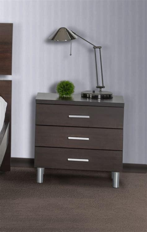 modrest bravo modern wenge nightstand nightstands bedroom