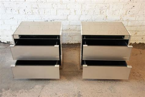 ello bedroom furniture guy barker for ello mid century mirrored nightstands for