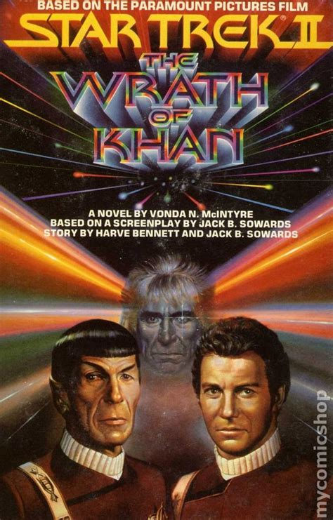 Star Trek Ii Wrath Khan 1982 Star Trek Ii The Wrath Of Khan Hc 1982 Novel Comic Books