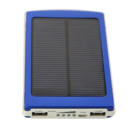 Power Bank Solar Cell Di Jakarta power bank solar cell panel surya 10 000mah
