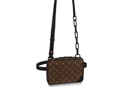 louis vuitton utility front bag monogram brown