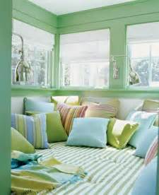 pastel blue and green colors creating tender and airy