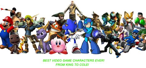 best videogame best videogame characters by pacduck on deviantart