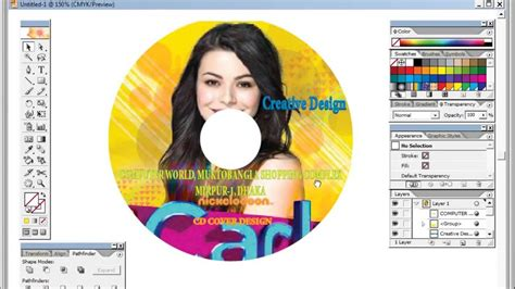design cd cover using photoshop photoshop tutorial cd cover design youtube