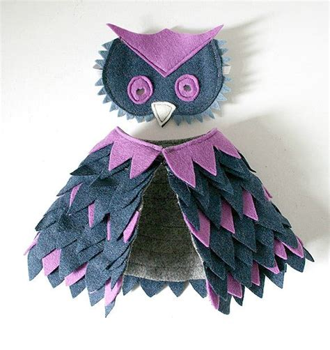 Handmade Owl Costume - diy owl costume for