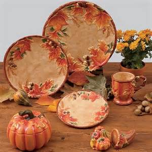 thanksgiving tableware sets harvest blessings covered pumpkin bowl 32 oz by susan