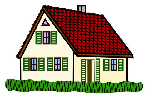 coloured houses clipart   cliparts  images