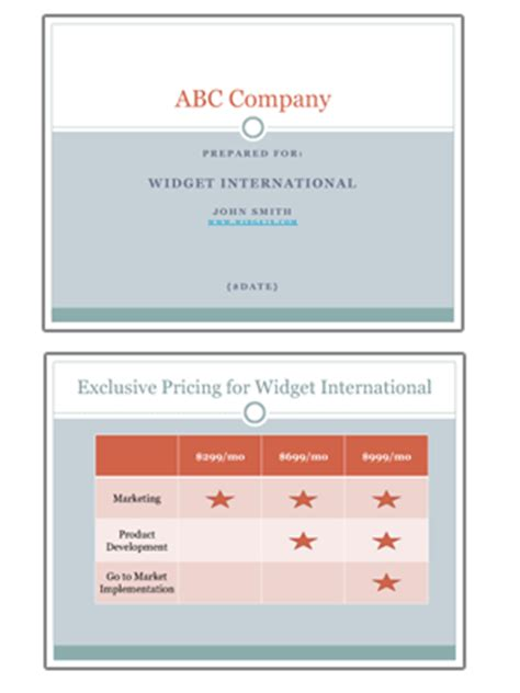 sales pitch book template sales pitch