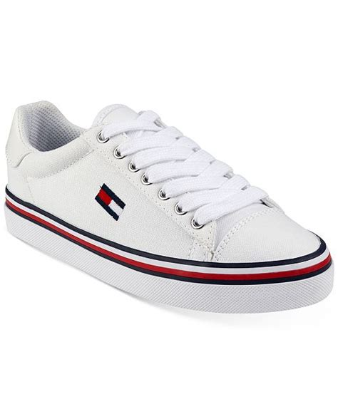 tommy hilfiger womens fressian lace  sneakers reviews