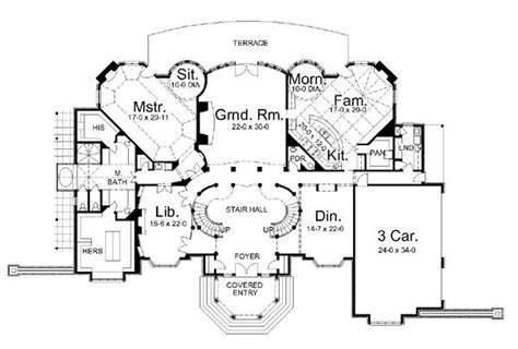 french chateau floor plans home ideas 187 chateau house plans