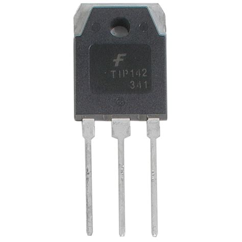 transistor darlington npn tip tip142 transistor npn darlington 100v 10a to 247