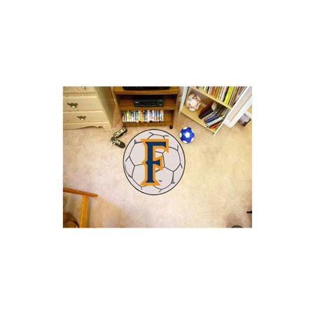 cal state fullerton colors soccer area rug w officially licensed cal state