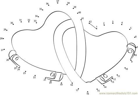 printable valentine dot to dot valentine s day hearts dot to dot printable worksheet