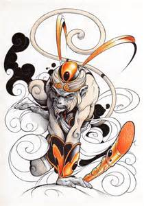 sun wukong le tattoo pictures