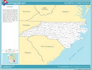 time zone and fips code for counties in carolina
